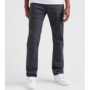 Levi's Men's 511 Slim Fit Grey Black Jeans 32 x 32